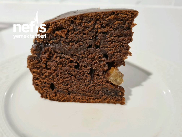 Kakaolu,Limonlu Kek (Şekersiz, Yumurtasız!!!)