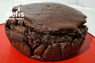 Kakaolu Limonlu Kek (Şekersiz Yumurtasız) Tarifi