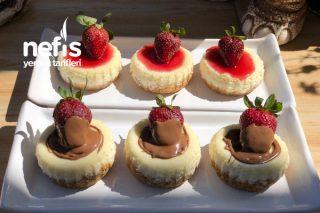 Porsiyonluk Cheesecake (Mini Cheesecake) Tarifi