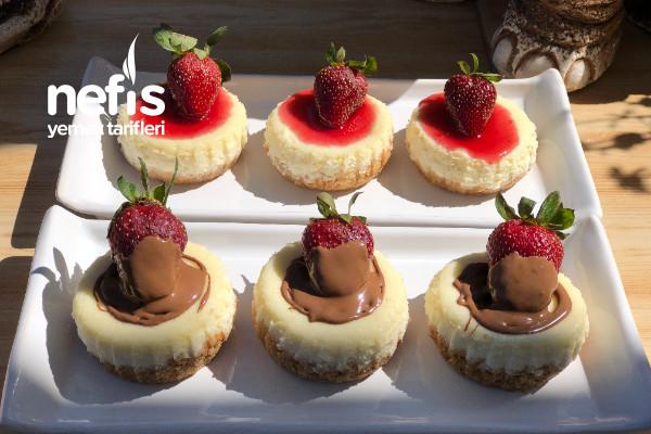 Porsiyonluk Cheesecake (Mini Cheesecake)