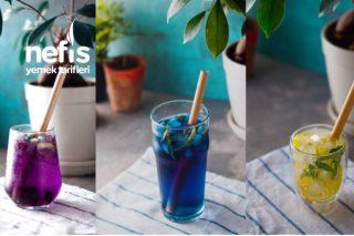 Rengarenk Buz Küpleri ve İçecekler Tarifi