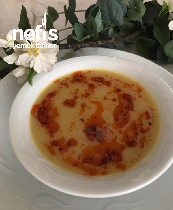 Sebzeli Mercimek Çorbası (Düdüklü Tencerede)