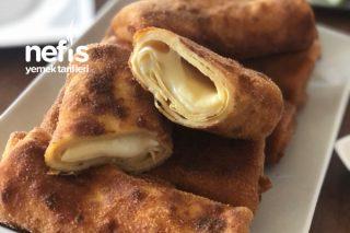 Çıtır Çıtır Peynirli Krep Börek Tarifi