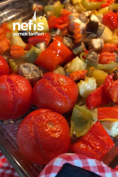 Domates Soslu Karışık Sebze (Kızartmadan)