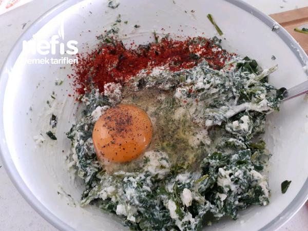 İtalyan Mutfağına Taş Çıkartacak Ispanaklı Ajvar Soslu Krep Sarma