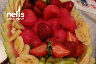 Karpuzdan Meyve Tabağı Tarifi