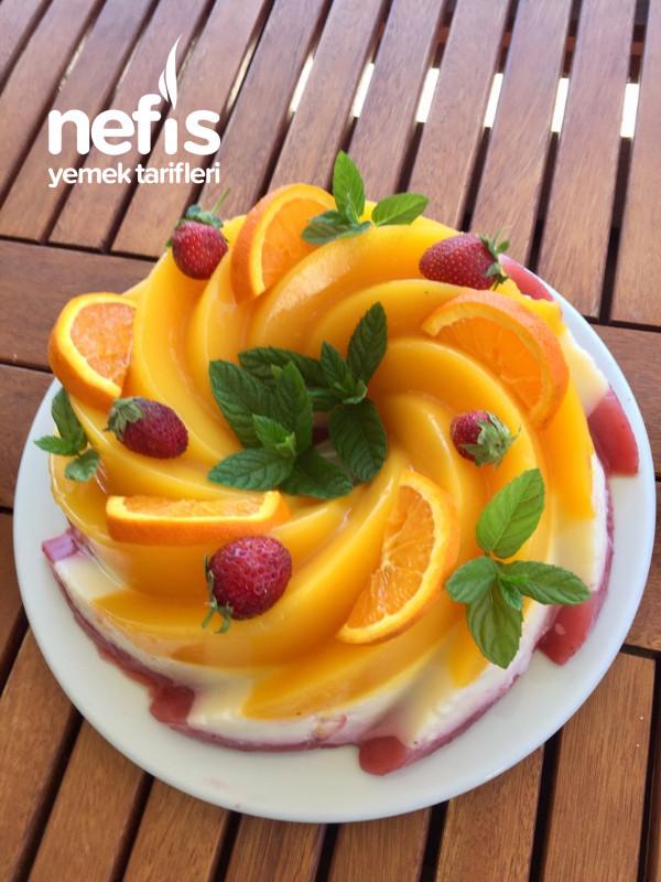 Muhteşem lezzet ile hafif serinleten yaz tatlısı