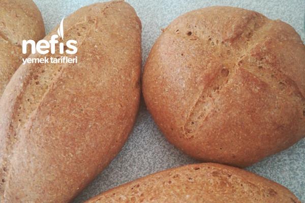 Tam Buğday Ve Çavdar Unundan Ekmek