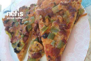 15 Dakikada Pizza Tarifi