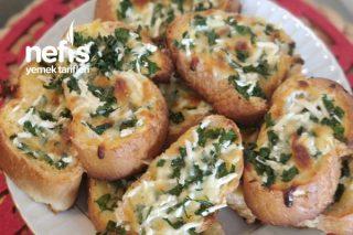 Çok Pratik Peynirli Ekmek Dilimleri Tarifi