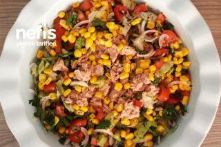 Ton Balıklı Salata (Harika Bir Lezzet) Tarifi