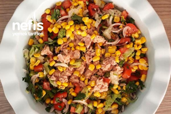 Ton Balıklı Salata (Harika Bir Lezzet)