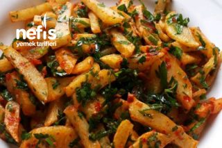 Domates Soslu Patates Salatası Tarifi