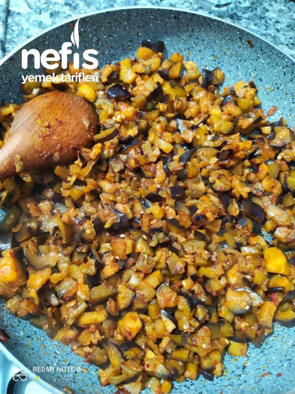 Patlıcan Kavurması (Çok Pratik Bir Yemek)