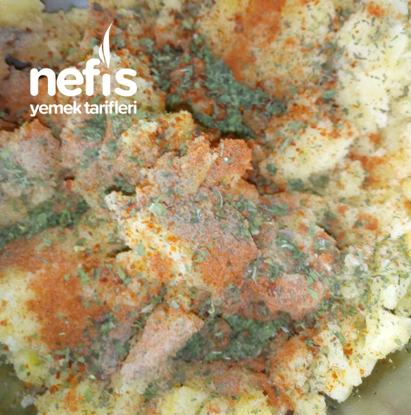 Tam Ölçülü Patatesli (3- 2 -1) Poğaça