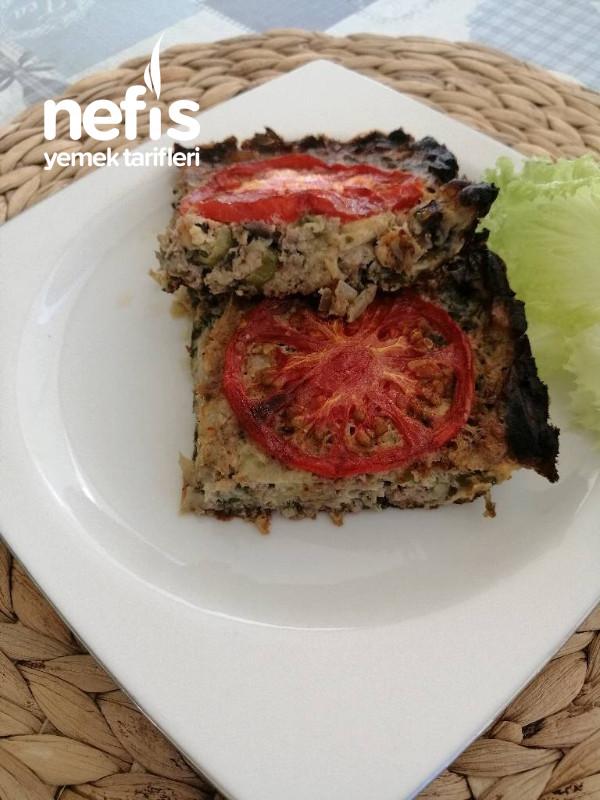 Yufkasız Patlıcan Böreği (Afyonun yöresel yemeği )