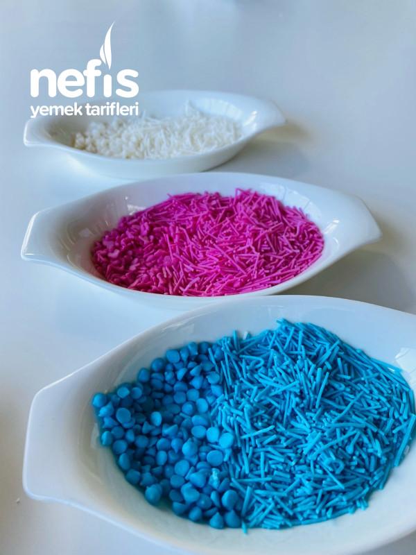Ev Yapımı Renkli Granül Şekerler(pasta Süsü)videolu-9420918-130513