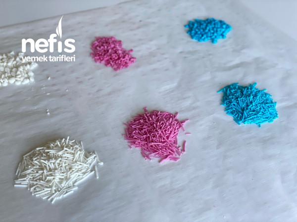 Ev Yapımı Renkli Granül Şekerler(pasta Süsü)videolu-9420918-130506