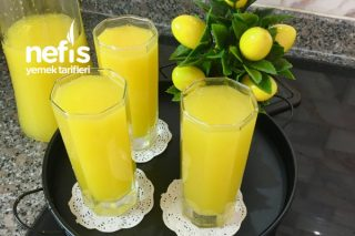 Evde Buz Gibi Limonata Tarifi