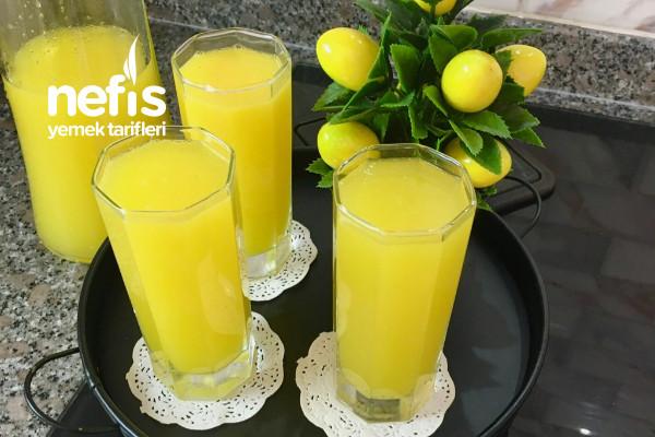 Evde Buz Gibi Limonata