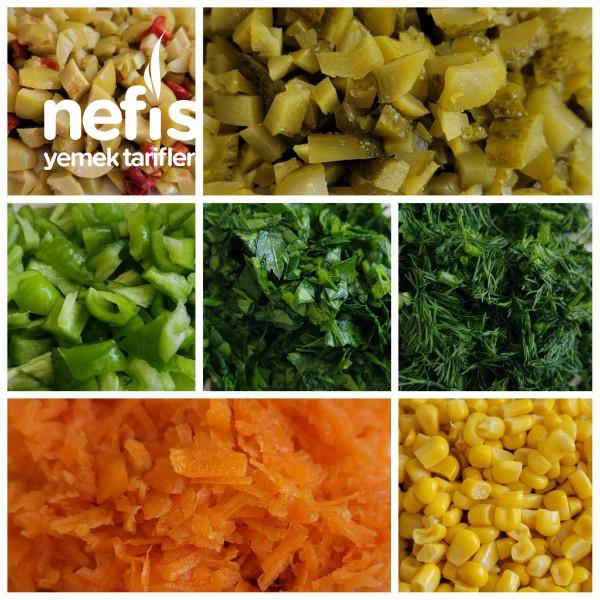 Karışık Şehriye Salatası (Videolu)-9419809-090508