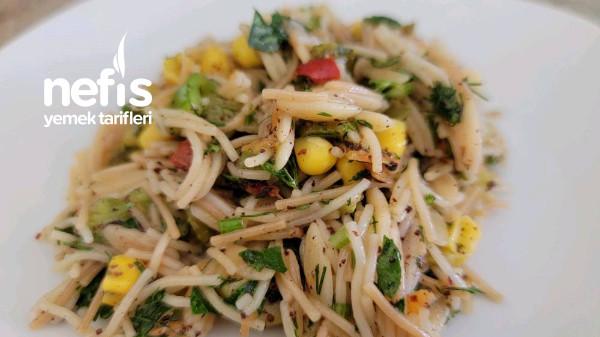 Karışık Şehriye Salatası (Videolu)-9419809-090514
