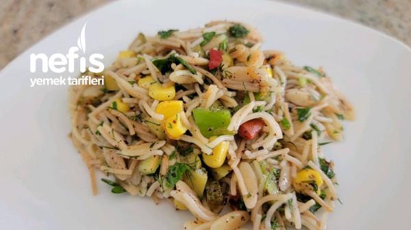 Karışık Şehriye Salatası (Videolu)-9419809-090515