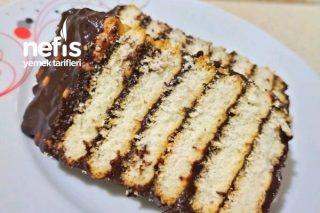 Nostaljik Bisküvili Pasta (3 Malzemeli) Tarifi