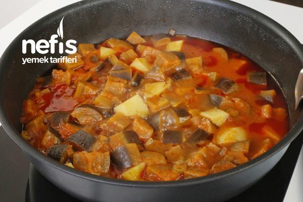 Patlıcanlı Türlü Yemeği-9419922-060512
