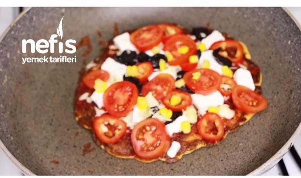 Yulaf Tabanlı Fit Pizza-9069409-180537