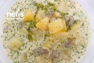 (Antep Usulü) Yoğurtlu Patates Tarifi