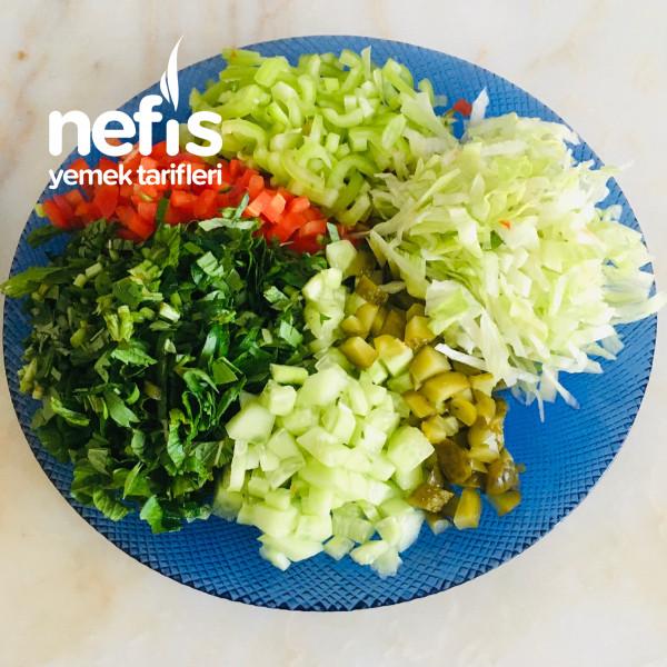 Hacmi Büyük Kalorisi Düşük: Karabuğdaylı Salata-9424177-100507
