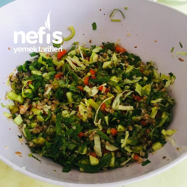 Hacmi Büyük Kalorisi Düşük: Karabuğdaylı Salata-9424177-100512