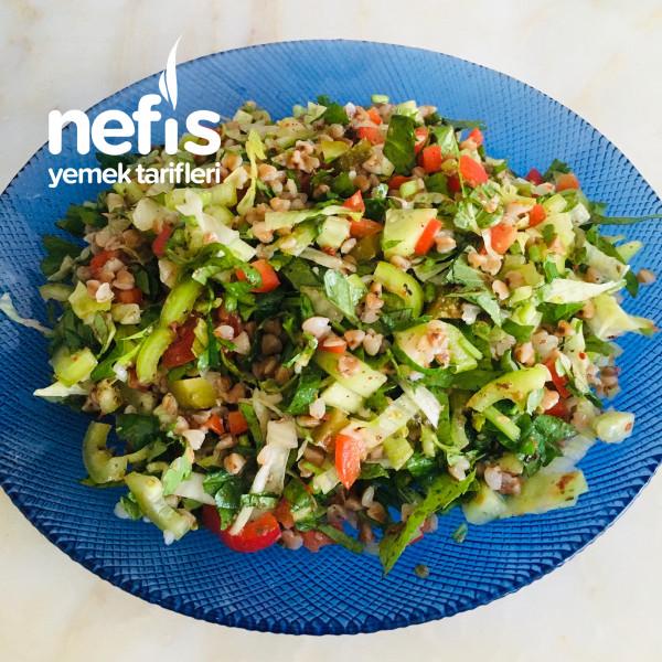 Hacmi Büyük Kalorisi Düşük: Karabuğdaylı Salata-9424177-100513