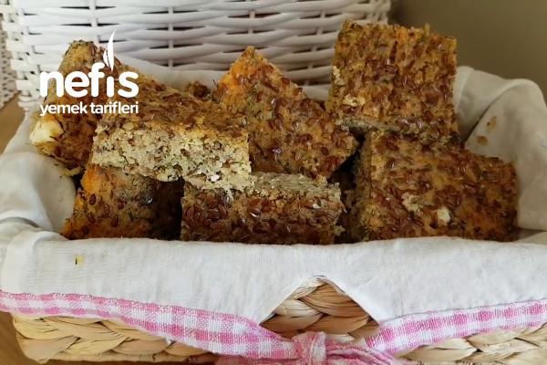 Haftada 3 Kilo Verdiren Unsuz Glutensiz Zayıflatan Ekmek Videolu