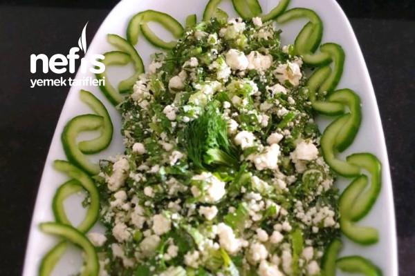 Kahvaltılık Lor Salatası