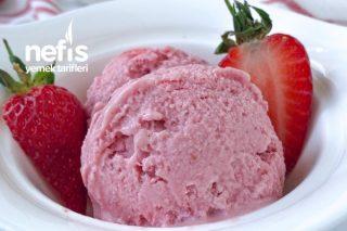 Fit Ve Fresh Çilekli Dondurma Tarifi