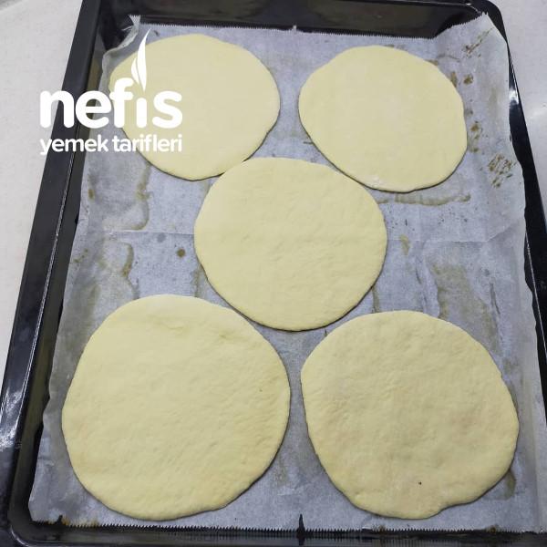 Harika Lezzet Pita Ekmeği Arasında Köfte Patates-9427197-050520