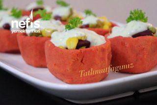 Garnitürlü Kırmızı Mercimek Salatası Tarifi