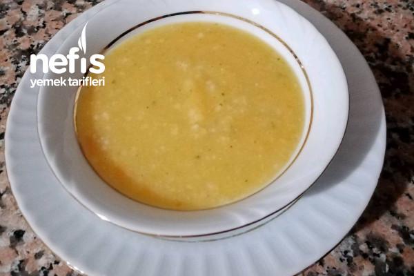 Bebekler İçin Pirinçli Sebze Çorbası (+6 Ay)