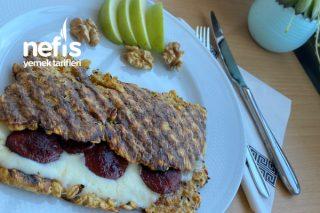 Yulaflı Tost Kahvaltım Tarifi