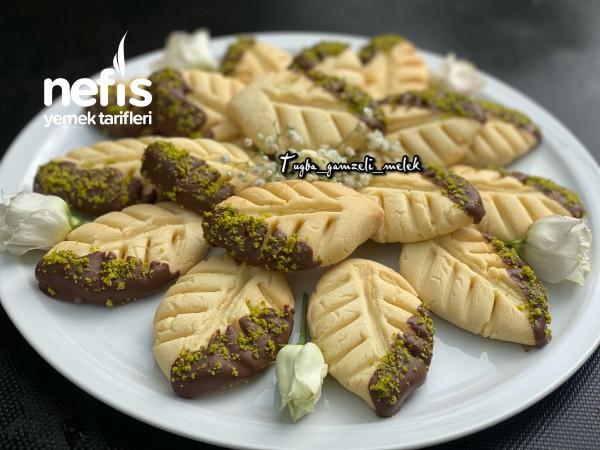 Enfes Lezzetiyle, Çikolatalı Yaprak Kurabiye-9442381-070543