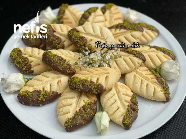 Enfes Lezzetiyle, Çikolatalı Yaprak Kurabiye-9442381-070544