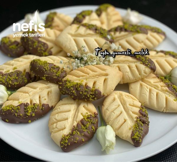 Enfes Lezzetiyle, Çikolatalı Yaprak Kurabiye-9442381-070531