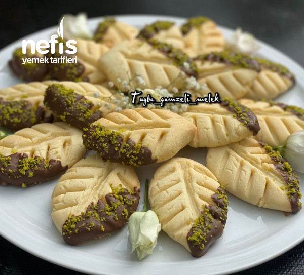 Enfes Lezzetiyle, Çikolatalı Yaprak Kurabiye-9442381-070532