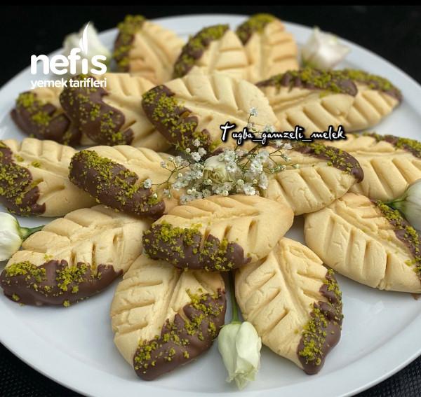 Enfes Lezzetiyle, Çikolatalı Yaprak Kurabiye-9442381-070537