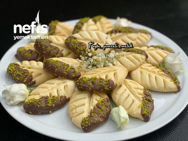 Enfes Lezzetiyle, Çikolatalı Yaprak Kurabiye-9442381-070538