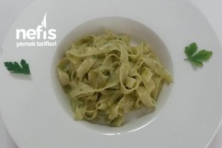 Pesto Soslu Makarna Tarifi