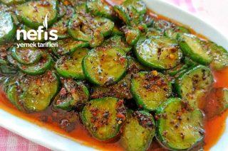 Restoranımızda Yaptığımız Salatalık Mezesi Tarifi (Videolu)