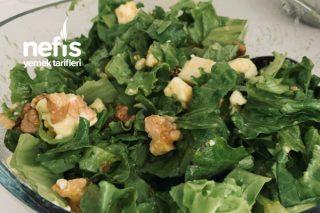 Ballı Hardallı Yaz Salatası Tarifi